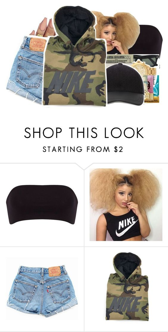 """Alessia Cara X Wild Ones"" by jtia ❤ liked on Polyvore featuring Dorothy Perkins, Levi's and NIKE"