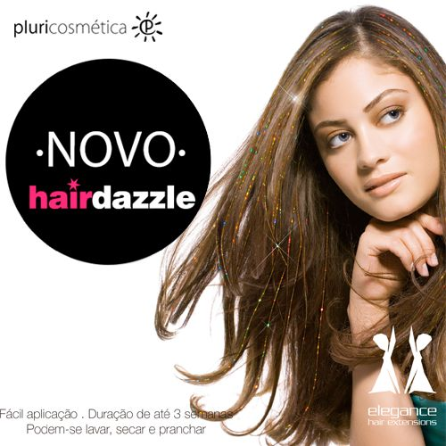 NOVIDADE - HAIRDAZZLE www.pluricosmetica.com
