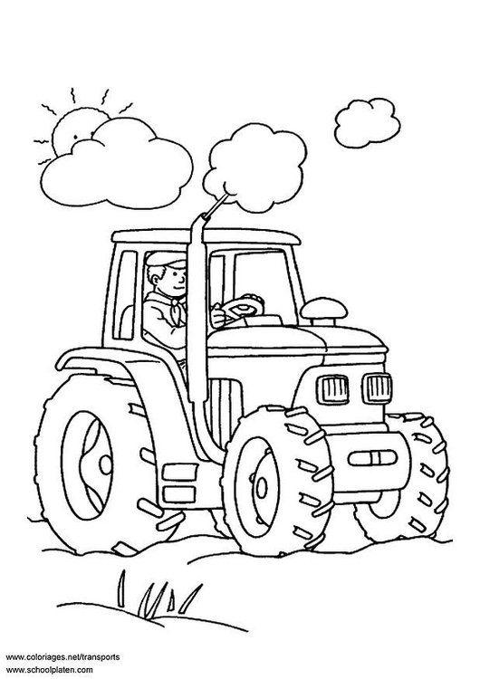 Malvorlage Traktor Bilder Fur Schule Und Unterricht Traktor Ausmalbild Bild Zum Ausmalen Zeichnung Ausmalbilder Jungs Ausmalbilder Ausmalbilder Traktor