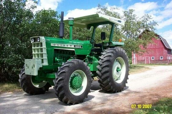 Oliver 1950 4x4 : Oliver fwd tractors pinterest