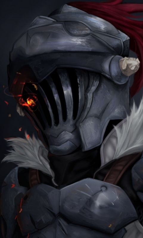 Anime Goblin Slayer Soldier Armour 480x800 Wallpaper