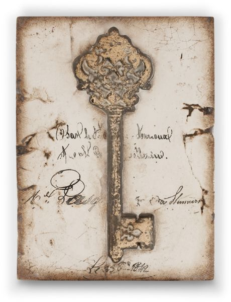 """The Key """"Now and forever you hold the key. You are part of my story and will always be."""" This is from Sid's newest collection Renewal. I must get it.:"""