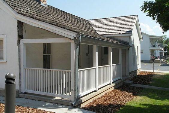 Amerikanische Holzhäuser Veranda Mit Pultdach | Haus | Pinterest
