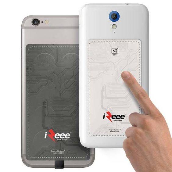 Izee Touch cargador carga tu Smartphone con tacto de los dedos