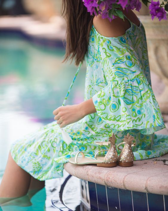 Gorgeous summer dresses in bright colors
