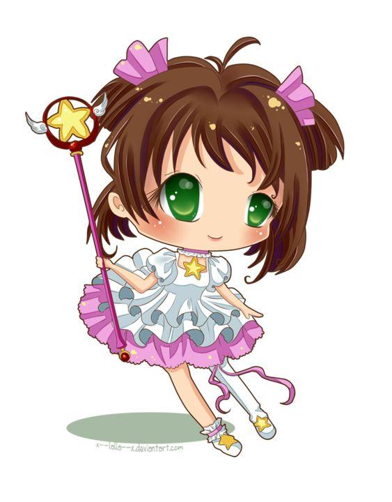 Sakura-chan by x--lalla--x.deviantart.com on @DeviantArt
