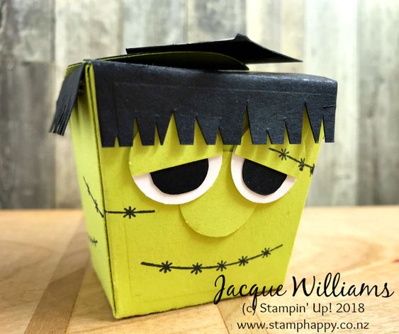 All Stars September Blog Hop - Takeout Treats for Halloween with Frankenstein