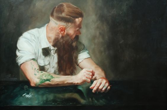 Beautiful oil artworks and charcoal drawings by James Taylor Gray   Creative Boom