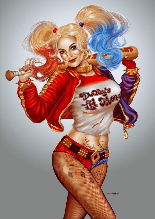 Gambar Harley Quinn Animasi