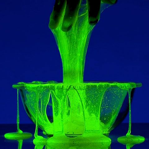 Halloween slime recipes for haunted houses, classroom parties, Halloween parties or just an ooey-gooey good time.