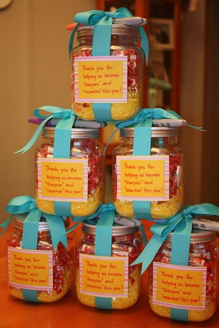 teacher gifts - lots and lots of teacher gifts