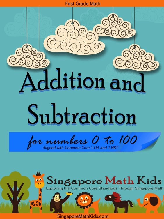 Singapore Math Kids This is a set of worksheets for 1st Grade – Math in Focus Worksheets