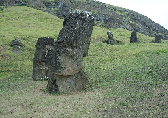 Ilha da Páscoa. Polinésia, Chile.