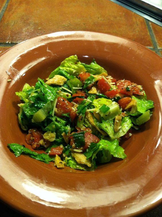 augusta's green jacket salad. | Green Jacket House Salad ...