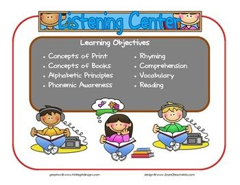 how to write learning objectives for preschoolers