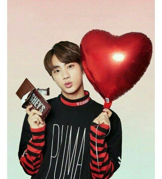 Bts Valentine Blackpink And Bts Kim Seokjin Jimin Jungkook