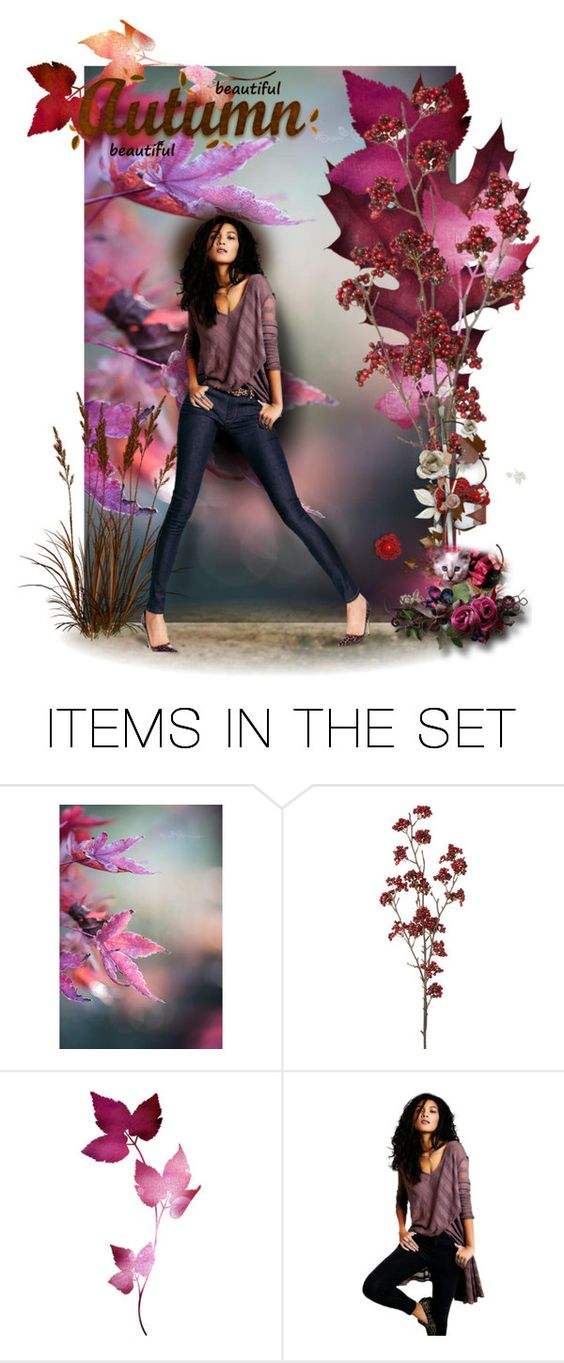 """Beautiful Autumn (revised)"" by chileez ❤ liked on Polyvore featuring art"