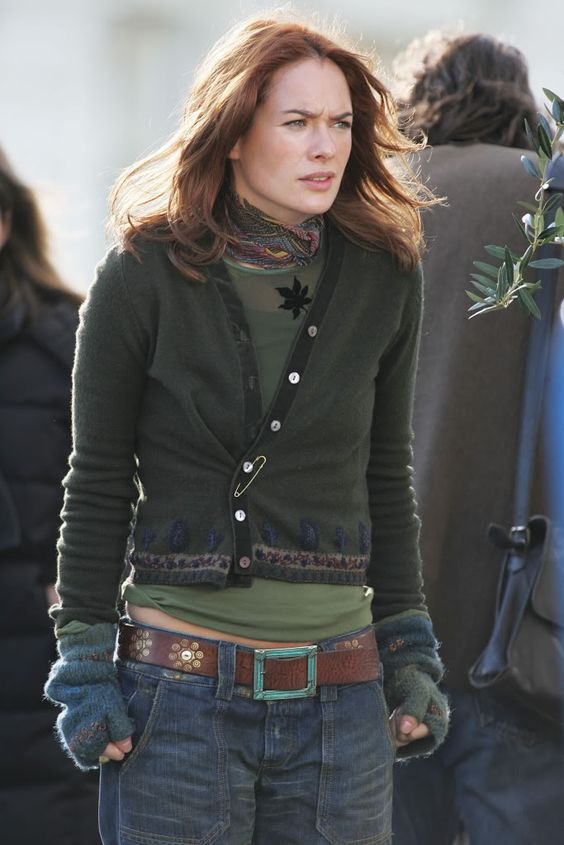 Lena Headey as Luce in 'Imagine Me & You' (clothespiration)
