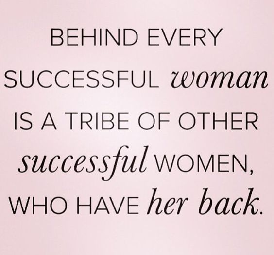 This is totally the feeling I have with my Y-sisters! Women empowering women
