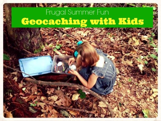 Start Geocaching with your kids this summer.  It is one of the best frugal summer fun activities out there.  Read this list so you know what to expect before diving headfirst into your favorite new family activity!