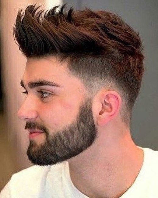 Men Hairstyle 2019 With Beard
