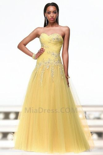 Formal Corpete plissado Vestidos princesa Triângulo Invertido Primavera Tule Vestido de baile