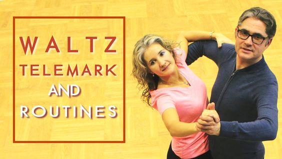 How To Dance Waltz Basic? | Telemark & Routines