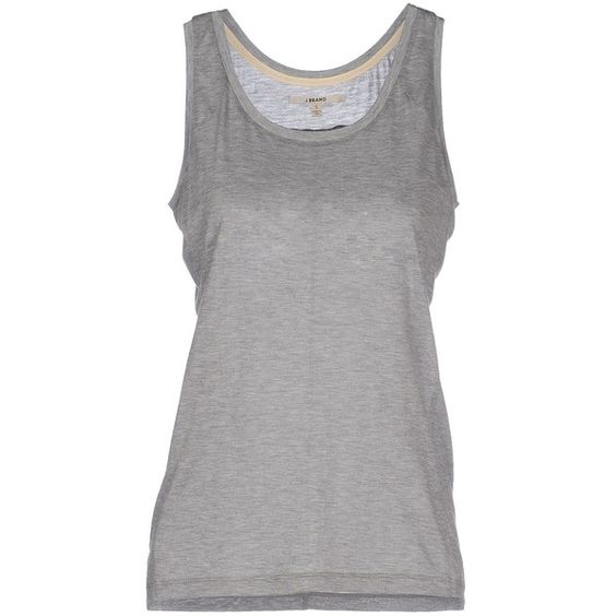 J Brand Vest ($22) ❤ liked on Polyvore featuring outerwear, vests, tops, tank tops, grey, vest, sleeveless vest, gray vest, grey waistcoat and j brand