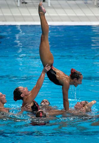 how to learn synchronized swimming