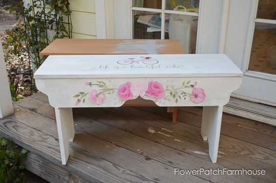 Life-is-a-Beautiful-Ride-Sweetheart-Bench-FlowerPatchFarmhouse.com-4-of-8