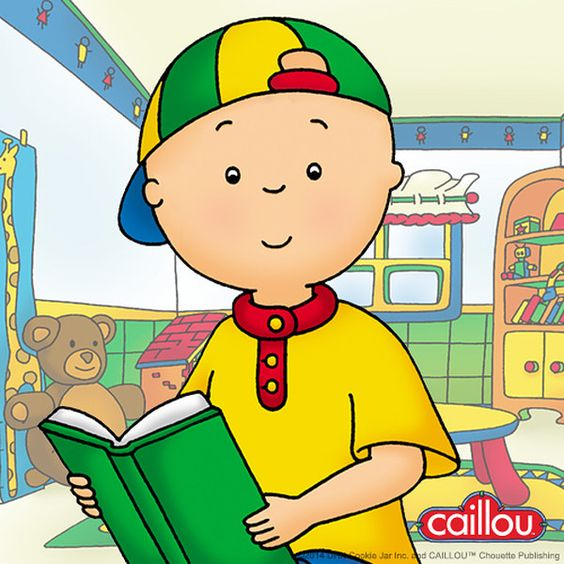 Take a look at the Caillou event on zulily today!