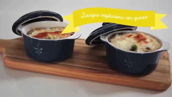Cómo preparar una #lasagna de quinoa #cocina #receta
