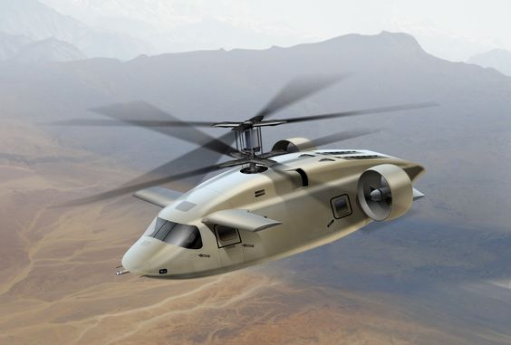 Future Helicopter -  AVX Aircraft Concept - Future Utility Military Heli...