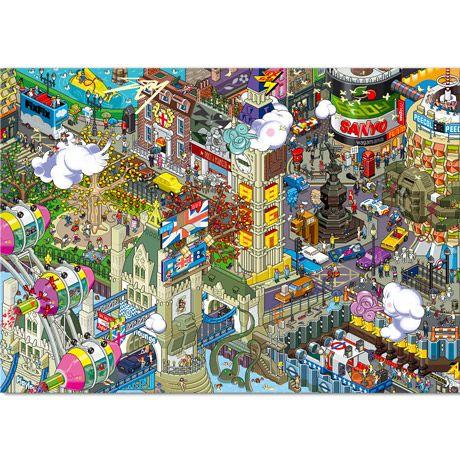 Eboy London Pixel Poster