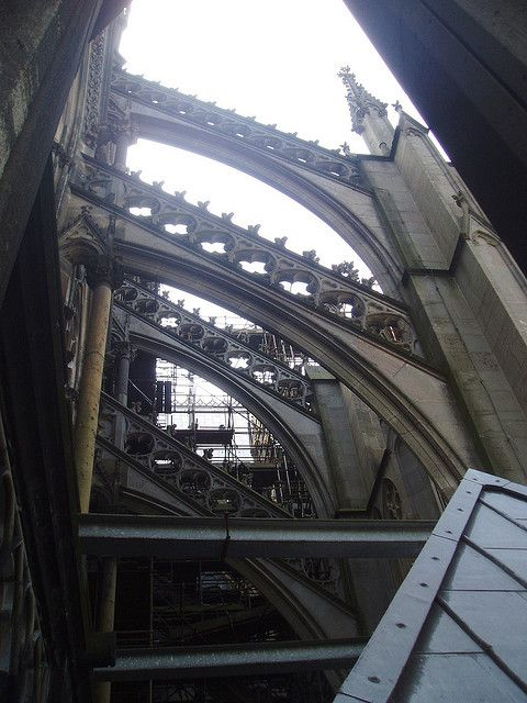 Architecture Pinterest Flying Buttress Gothic And Gothic