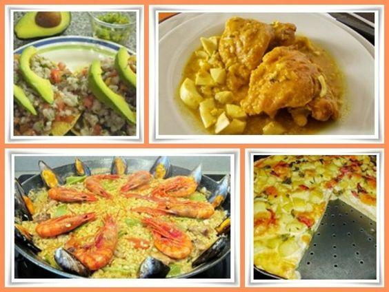 Deliciosos y variados platillos