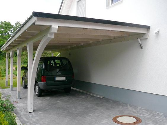 Carport Idee Einseitig Outdoor Decor Carport Outdoor Structures