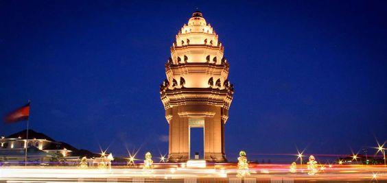 Quảng trường Độc Lập ở Campuchia