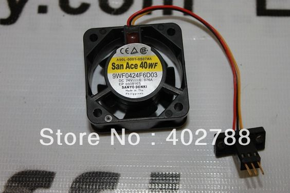 Find More Electronics Stocks Information about New Fanuc Cooling Fan A90L 0001 0507#A  SANYODENKI 9WF0424F6D03 DC 24  0.076A 40*40*20mm,High Quality cooling pad fan,China cooling radiator fan Suppliers, Cheap cooling usb fan from HK Affinity store on Aliexpress.com