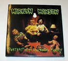 Details About Lp Marilyn Manson Portrait Of An American Family Green Vinyl No Shirt In 2020