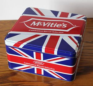 Union Jack McVitie's biscuit tin