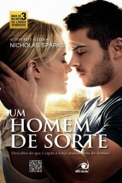 Livro - Um Homem De Sorte – Nicholas Sparks - Cantinho da Cultura
