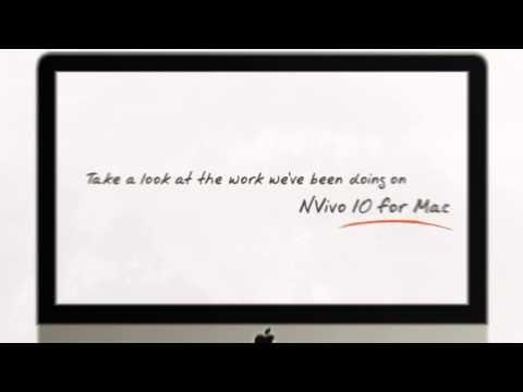 Introducing NVivo 10 for Mac Nvivo Pinterest
