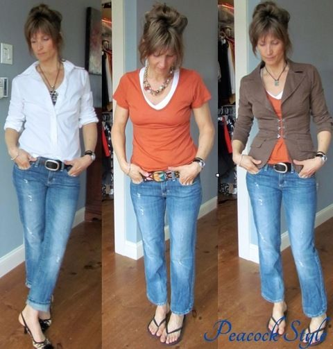 Fashion blog for Women over 40: Not sure how to wear my Boyfriend