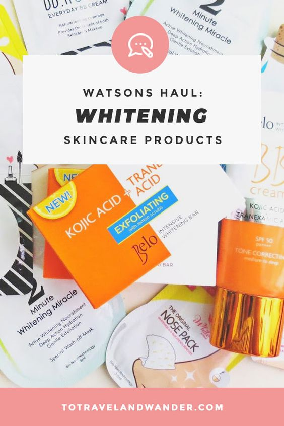 Watson's Haul: Affordable Whitening Products