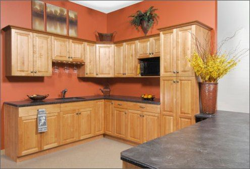paint colors for kitchens kitchen paint colors and maple cabinets on pinterest. Black Bedroom Furniture Sets. Home Design Ideas