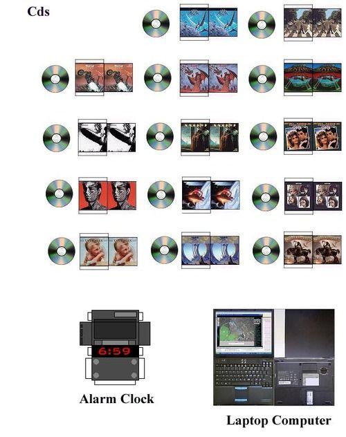 CD and modern printables