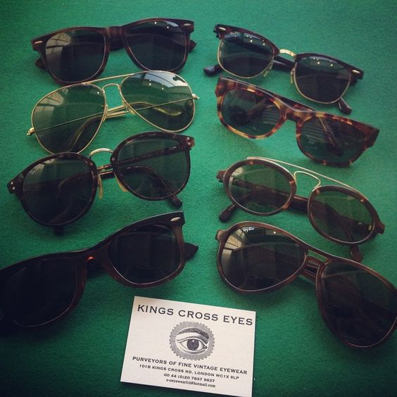 Vintage B&L Ray Ban sunglasses now in stock at Kings Cross Eyes X
