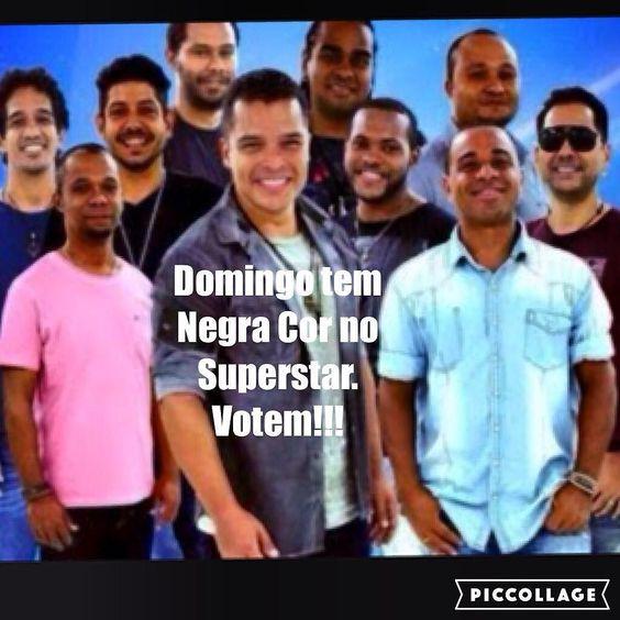 Alô Comunidade!!! Domingo  dia 15  tem @negracoroficial no #programasuperstar #superstar . Baixem o aplicativo ou votem pelo gshow.com . Obrigadoooo!!! #negracor #musica #avisala by adelmocase
