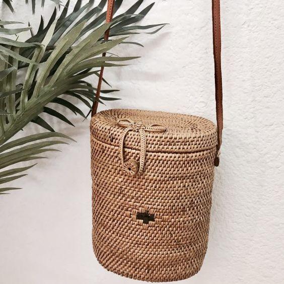 STRAW BAG - BOTTLE - Pepyth
